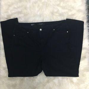 Nine West cigarette fit skinny jeans size 18W